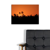 """Sunset Over the Nile"" by Mohammed Shamma, Giclee"