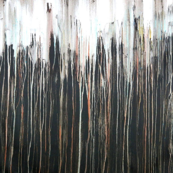 """A Crush on Black #2"" by Carla Sa Fernandes, Acrylic on Canvas"