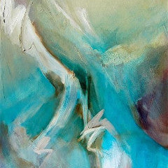 """Awaken I"" by Paula Des Jardins, Oil on Canvas"