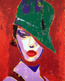 """Chic"" by Boris Yvan, Acrylic on Canvas"