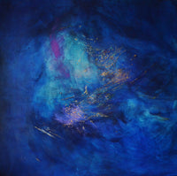 """Constellation Dream"" by Oriane Biangonga, Acrylic on Canvas"