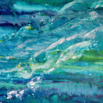 """Crystal Waters"" by Olivia Alexander, Acrylic on Canvas"