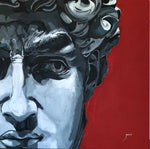 """David"" by Javier Urdaneta, Acrylic on Canvas"