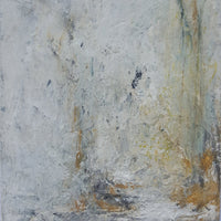 Fragmentaion by Philippa Anderson, Mixed Media on Covered Board