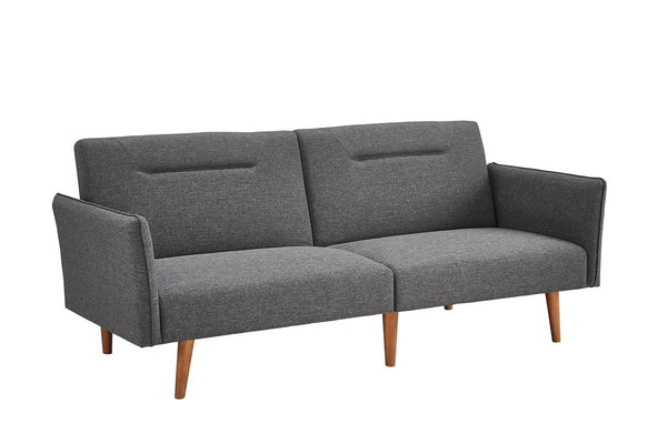 Fresno Convertible Mid-Century Sofa Couch Grey, Gray