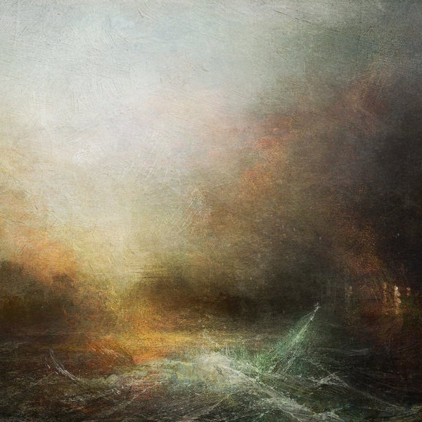 """Gale Force"" by Simon Antony Wilson, Digital Painting"