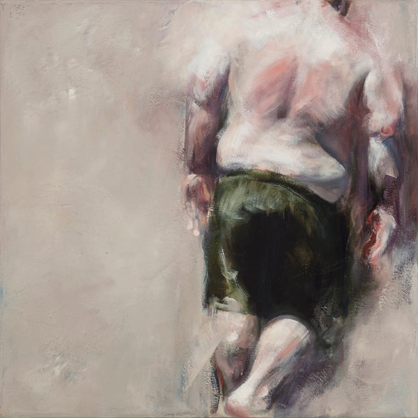 """Girth"" by Marc Ouellette, Oil on Canvas"