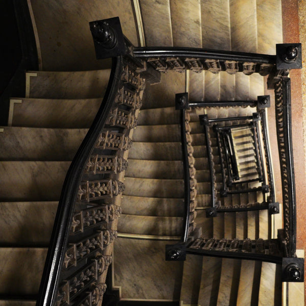 """Going Down"" by Kevin Schumacher, Metallic Photographic Archival Print"