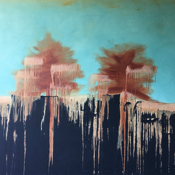 """Tree Oils"" Stretched on Canvas by Shane Townley"