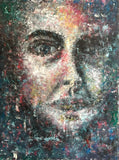 """The Stranger"" by Ruzica Sola, Oil on Canvas"