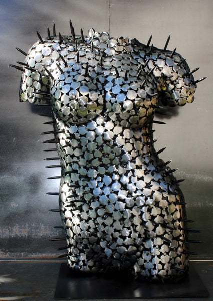 She Urchin by Scott Wilkes, Metal Sculpture