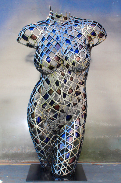 Tears in a Kaleidoscope by Scott Wilkes, Metal Sculpture