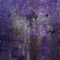"""Purple Prince"" by Bess Tsonis, Acrylic on Canvas"
