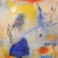"""Primary Fellowship"" by Deana Khoshaba, Oil, Charcoal, and Conte' Crayon on Canvas"