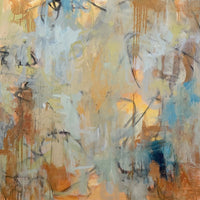"""Light Within"" by Britt Bair, Acrylic and Mixed Media on Canvas • SOLD"
