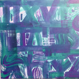 """IIVXI"" by MCCLOZKEY, Mixed Media on Canvas"