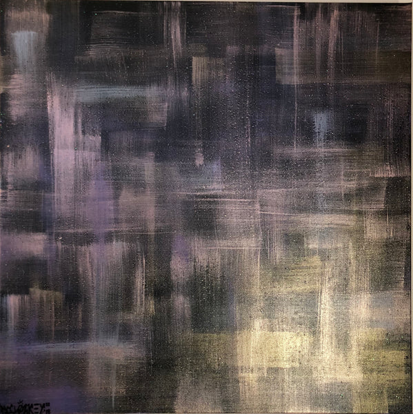 """Dimensions"" by MCCLOZKEY, Mixed Media on Canvas"