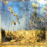 Sunset Boulevard by Melanie Seiler, Paper with Gold Leaf and Photoprint