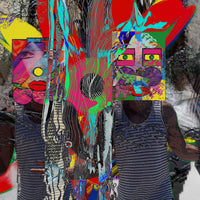 """Living Out-Loud"" by Jennifer L Gray & Phillip Johnson, Digital Mixed Media on Canvas"