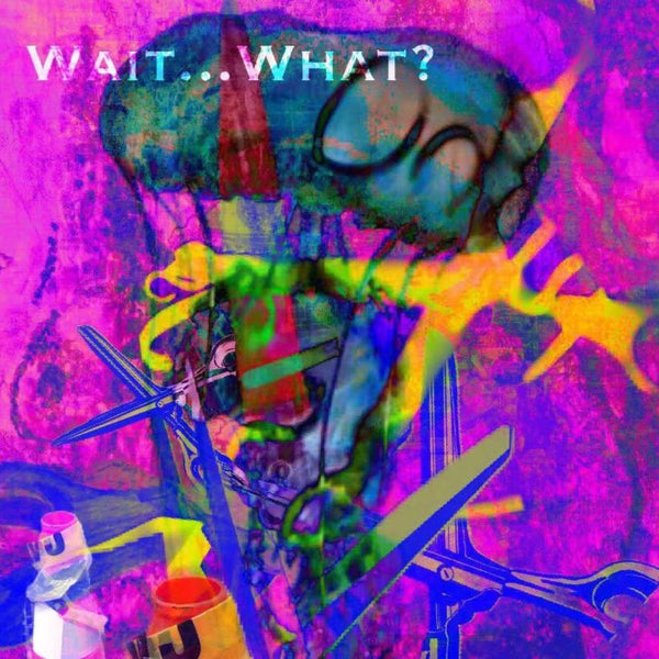 """Wait..What?"" by Jennifer L Gray & Phillip Johnson, Digital Mixed Media on Canvas"