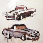 """El Caminos"" by Megan Coonelly, Acrylic on Canvas"