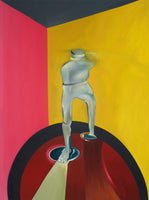 """Invisible Man"" by Thomas Dowdeswell, Oil on Canvas"