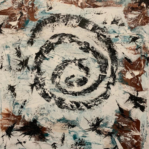 """Transform (Spiral #7)"" by Joe Love, Acrylic on Canvas"