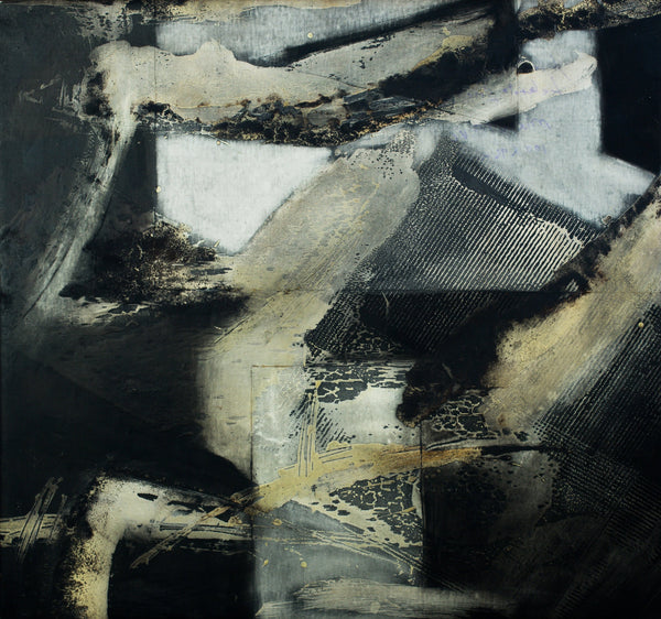 """Labyrinth VIII"" by Mario Marini, Mixed Media on Canvas"