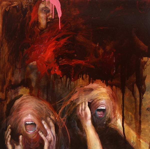 """Outrage"" by Brandon Smith, Oil on Canvas"