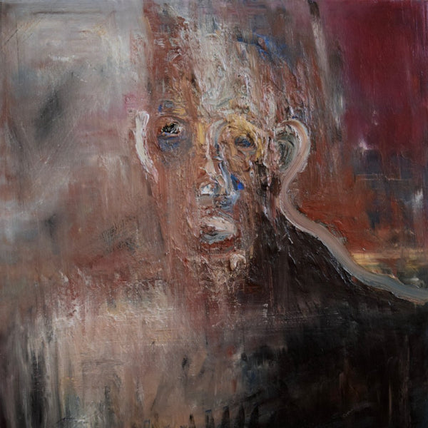 """Primordial Man"" by Gary Bastien, Oil on Canvas"