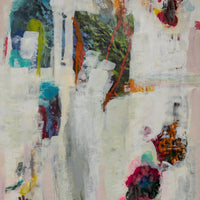 """White Underneath"" by Rita Klachkin, Mixed Media"