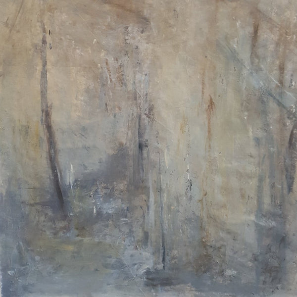 Ruinous by Philippa Anderson, Mixed Media on Canvas