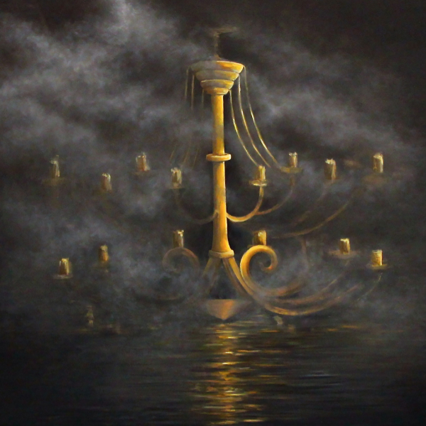 """Midnight Oil"" by Julia Dubovik, Oil on Canvas"