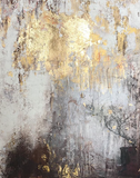 """Golden Light"" by Claudia Limacher, Mixed Media"