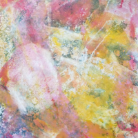 Day of Reckoning by Kim Roberts, Encaustic Monotype on Rice Paper