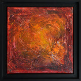 """Sentiments"" by Roseline Al Oumami, Acrylic on Canvas (Framed)"