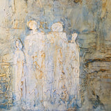 """Souls Adrift"" by Lori Burke, Mixed Media on Canvas"