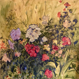 """From Our Garden"" by Susan McKenna List, Oil on Canvas"