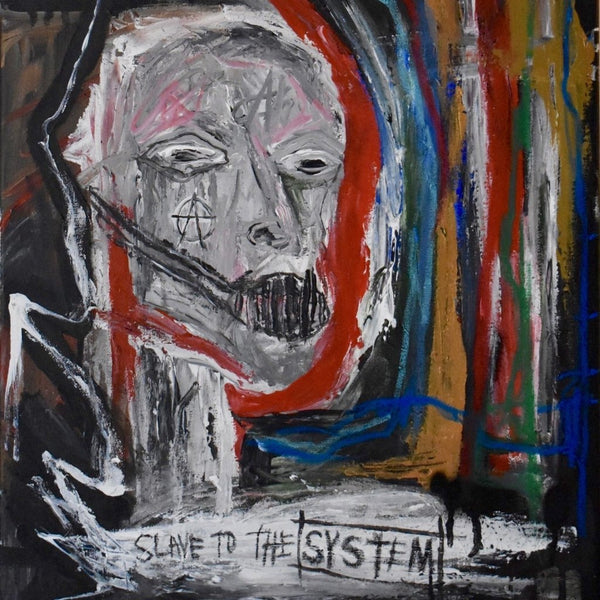 System by Lana London, Mixed Media on Canvas