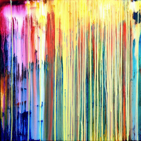 """The Emotional Creation #154"" by Carla Sa Fernandes, Acrylic on Canvas"