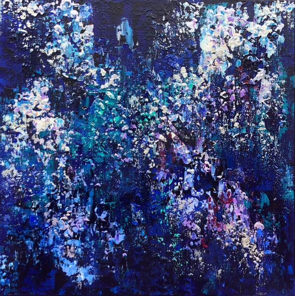 """Winter"" by Teresa Daugherty, Acrylic on Canvas"