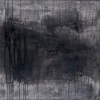 """Untitled 37"" by Kristina Sirakanian, Charcoal and Acrylic on Canvas"