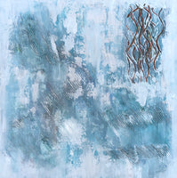 """Old Entanglements"" by Beth Kane, Mixed Media"