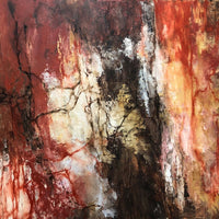"""Cave"" by Miri Baruch, Oil on Canvas"