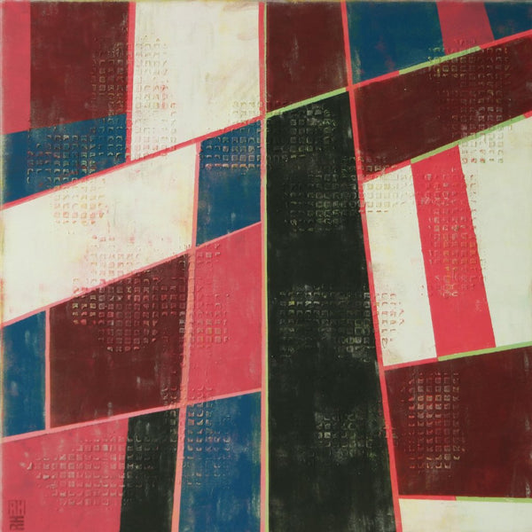 """High Rise No 3"" by Ronald Hunter, Acrylic on Canvas"
