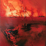 """Burning Sky"" by Geri Loudenslager, Oil on Canvas"