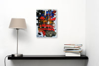 Third Class by Valentina May, Mixed Media on Paper