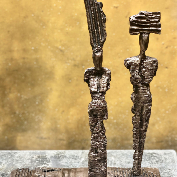 """Divinities"" by Anne De Villemejane, Bronze, POA"