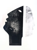"""Doubt Portrait 2"" by Jolanta Johnsson, Unique Print on Paper"