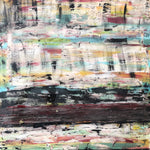 """River"" by Christopher Nelson, Mixed Media on Canvas"